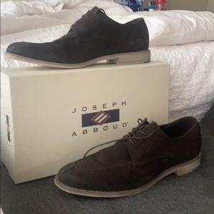Joseph Abboud Mens Suede shoes sz 10.5 D
